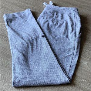 On the Fly herringbone knit 7/8 pant
